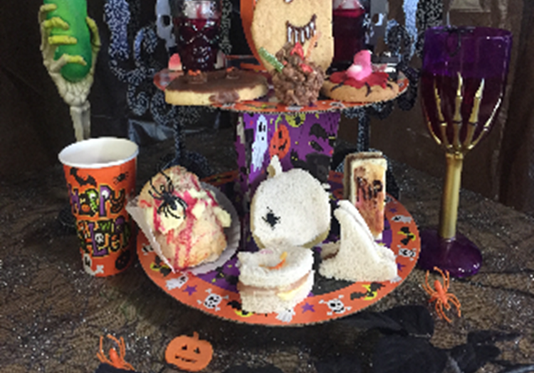 Afternoon Tea - Halloween Edition